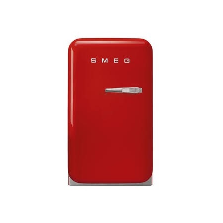 Smeg FAB5LRD 40cm Red Small 50's Style Left Hand Hinged Minibar