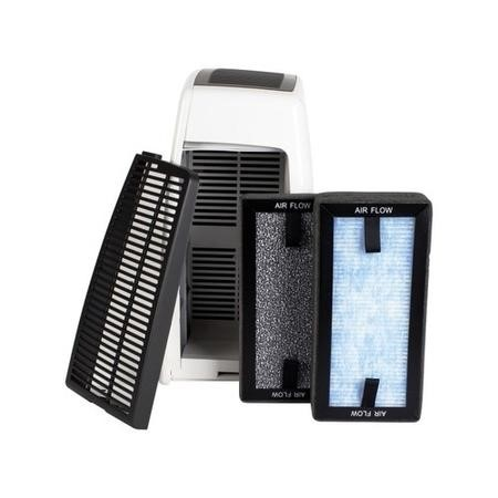 Replacement Hepa and Carbon Photo Catalyst Filter for ElectriQ EAP400D-V2