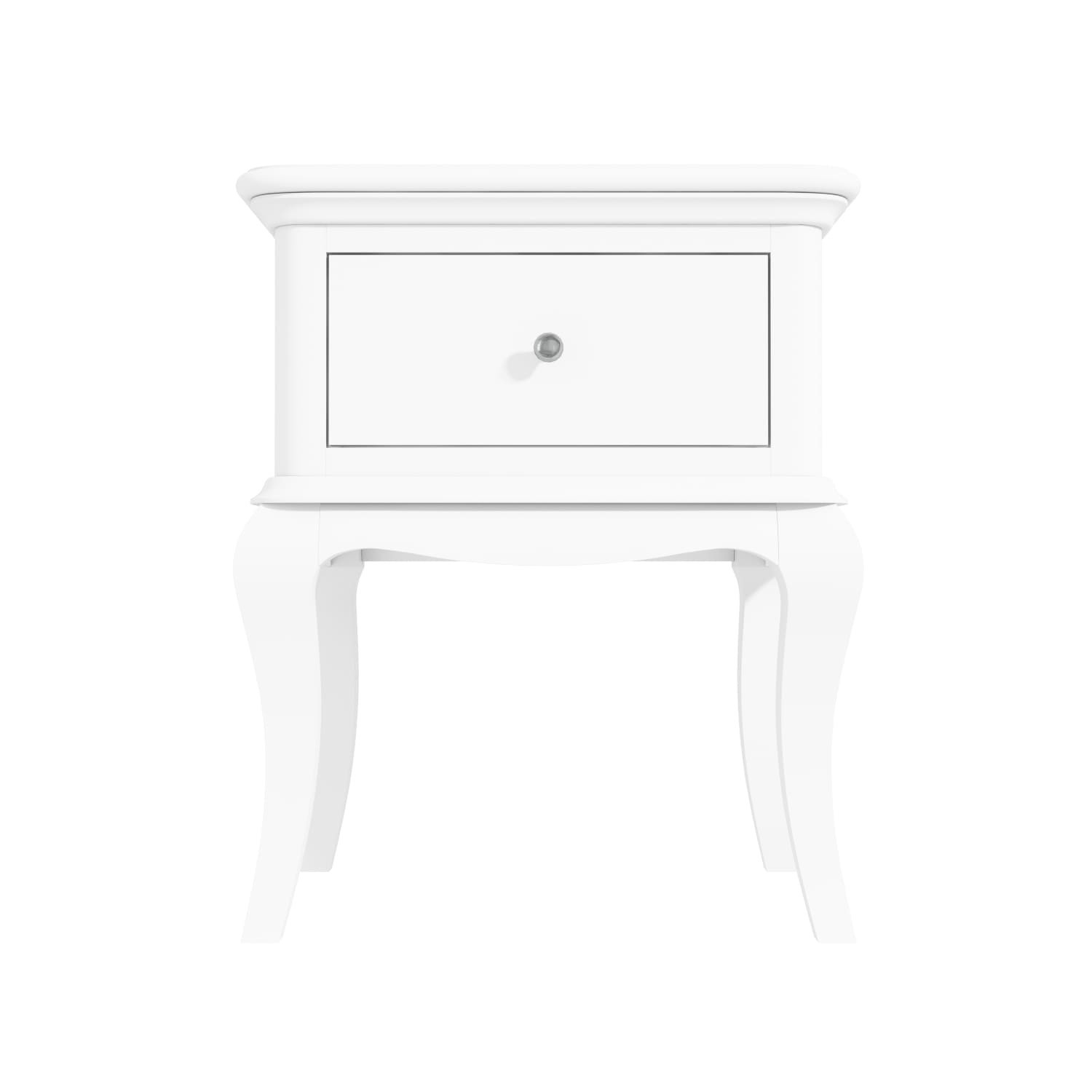 Florentine 1 Drawer French Style Bedside Table In White Buyitdirect Ie