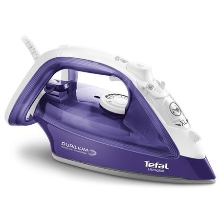 Tefal FV4092GO Ultraglide Steam Iron - White and Purple