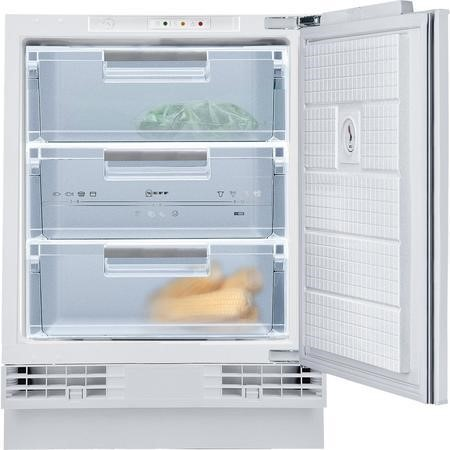 Neff G4344X7GB Series 1 60cm Wide Integrated Upright Under Counter Freezer - White