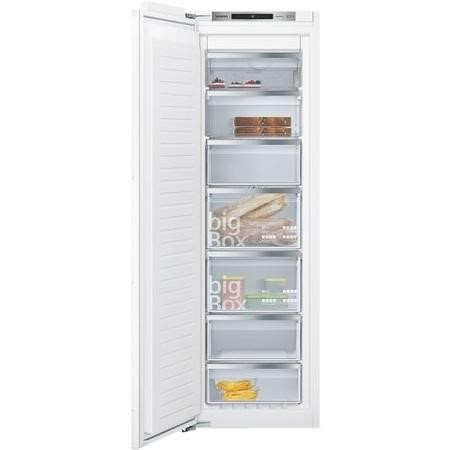 Siemens GI81NAE30G 56cm Wide Frost Free Integrated Upright Freezer - White