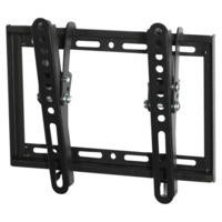 "electriQ Super Slim Tilting TV Wall Bracket for TVs up to 40"" with VESA up to 200 x 200mm and 30kg Load"