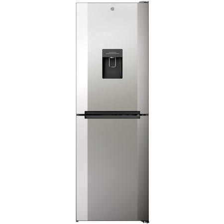 Hoover H1826MNB5XWK Total No Frost Freestanding Fridge Freezer With Water Dispenser - Stainless Steel