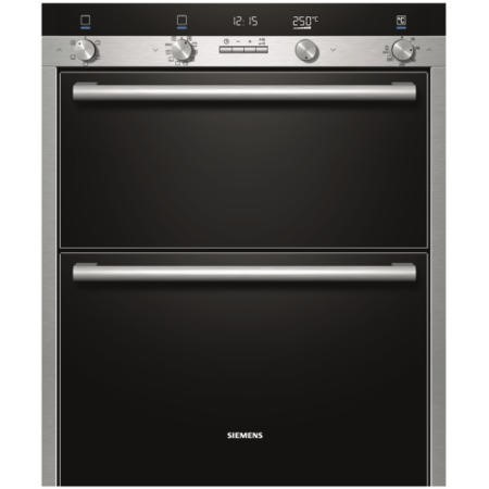 SIEMENS HB55NB550B iQ500 Multifunction Built-under Double Oven - Stainless Steel