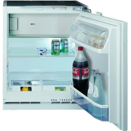 Hotpoint HFA1 Integrated Under Counter Fridge with Icebox - Steel