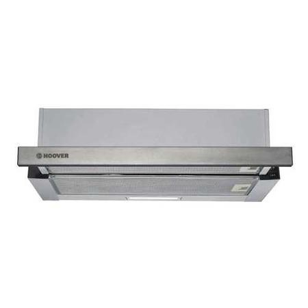 Hoover HHT6300/2X 60cm Telescopic Canopy Cooker Hood - Stainless Steel