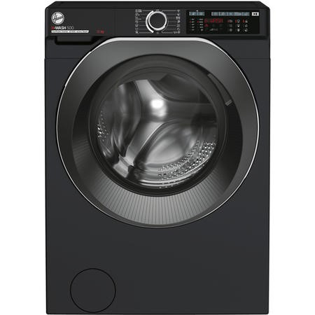 Hoover HW412AMBCB/1-80 H-Wash 500 12kg Freestanding Washing Machine - Black