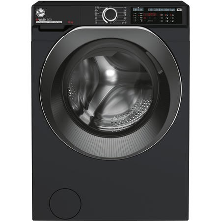 Hoover HW610AMBCB/1-80 H-Wash 500 10kg Freestanding Washing Machine - Black