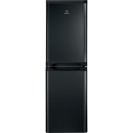 INDESIT IBD5517B 234 Litre Freestanding Fridge Freezer 50/50 Split A+ Energy Rating 55cm Wide - Black