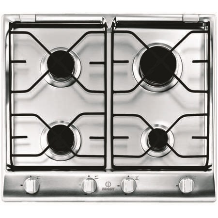 Indesit IP640SIX Prime 60cm Gas Hob with Flame Failure Device  in Stainless steel