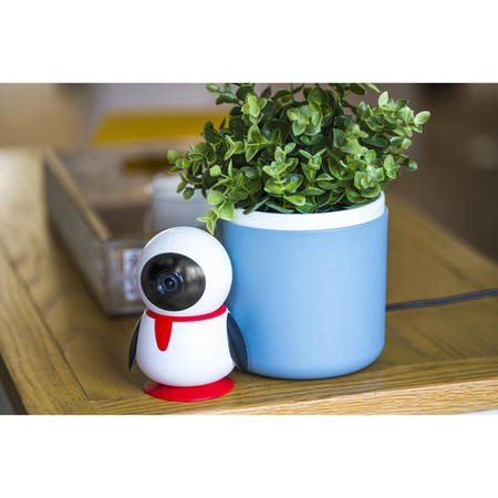 electriQ HD 1080p Wifi Pet Monitoring Pan Tilt Zoom Camera with dedicated App