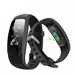 GRADE A1 - IQ PLUS Fitness Tracker with Connected GPS and Multi Sport Mode - Compatible with Android & iOS Devices