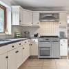 electriQ 90cm Dual Fuel Triple Cavity Range Cooker - Stainless Steel