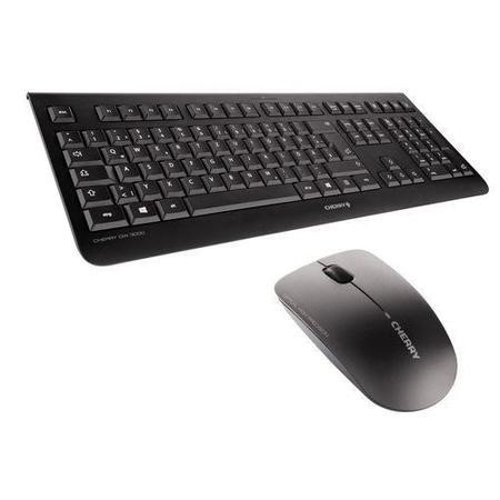 CHERRY KC 1000 Wired USB Keyboard Pale Grey
