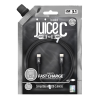 Juice 1M Braided Type-C to Type-C Cable - Black