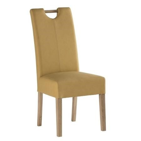 Kensington Pair of Dining Chairs in Yellow