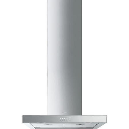 Smeg KS60XE-2 Symphony 60cm T-Shape Chimney Cooker Hood Stainless Steel