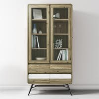 Kuta Reclaimed Wood Display Cabinet