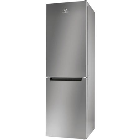Indesit LR8S1S 339L Freestanding Fridge Freezer Silver