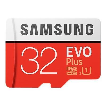 Samsung EVO Plus 32GB MicroSDHC with Adapter