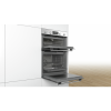 Bosch MBA5350S0B Serie 6 Multifunction Electric Built In Double Oven - Stainless Steel