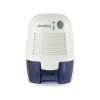 electriQ 500ml Portable Mini Dehumidifier for Mould Moisture Damp in Home Bedroom Caravan Office - Quiet