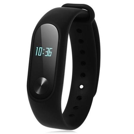 Xiaomi MI Band 2 Global Version - Smart Fitness Tracker With OLED Screen    Heart Rate Sensor - Black MI-BAND2 b65a60397fe