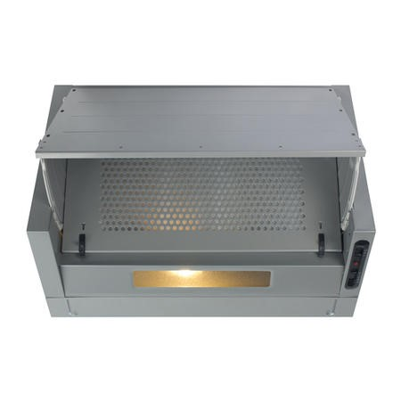 Matrix MIN600SI 60cm Integrated Extractor Hood in Silver