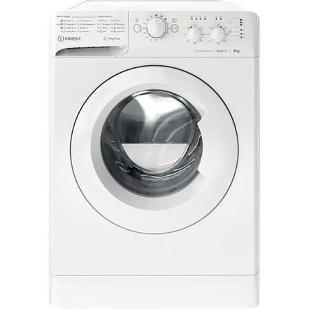 Indesit MTWC91283W 9kg 1200rpm Freestanding Washing Machine With Quiet Inverter Motor - White
