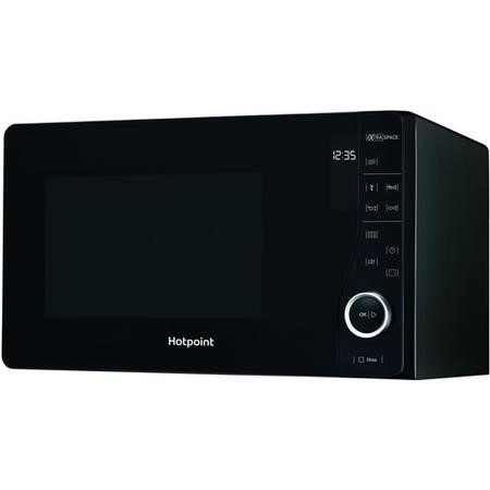 Hotpoint MWH2621MB 25L 800W Ultimate Collection Freestanding Microwave in Black