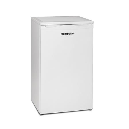 Montpellier MZF48W-2 48cm Wide Freestanding Upright Under Counter Freezer - White