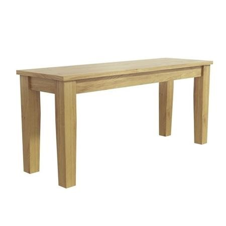 New Haven Light Oak Dining Bench