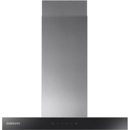 Samsung NK24M5070BS 60cm Chimney Hood - Stainless Steel With Black Glass