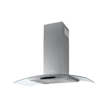Samsung NK36M5070CS 90cm Curved Glass Chimney Hood - Stainless Steel