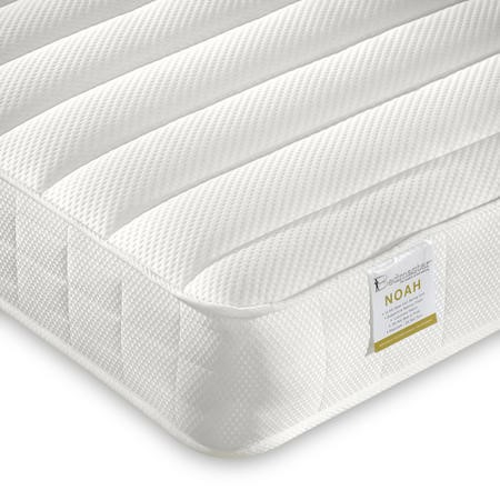 Noah Luxury Coil Sprung Memory Foam Small Double Mattress - Medium/Firm Firmness