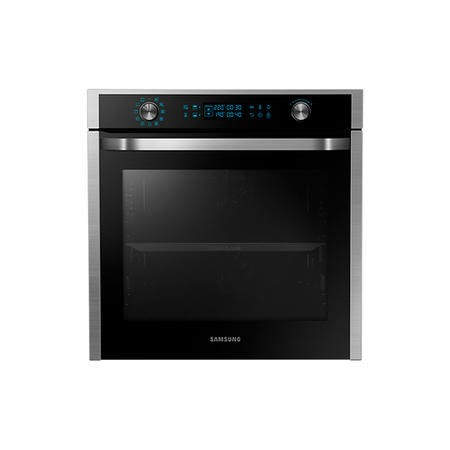 Samsung NV75J7570RS 75L Dual Cook Pyrolytic Electric Single Oven - Stainless Steel
