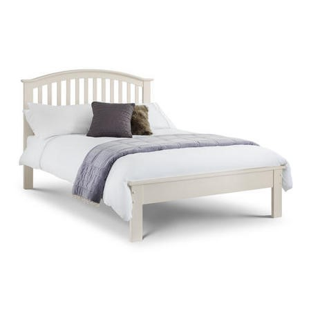 Julian Bowen Olivia Stone White Double Bed