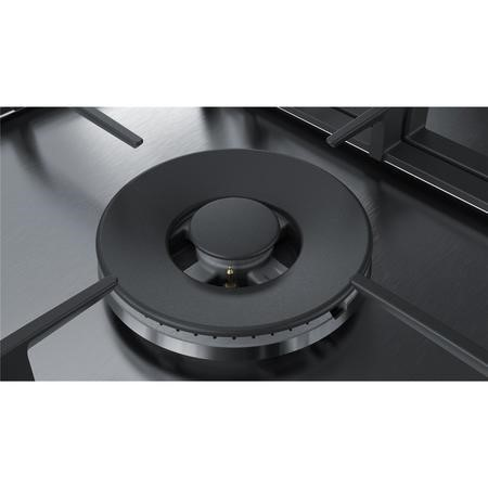 Bosch PCS7A5B90 Serie 6 75cm 5 burner Gas Hob in Stainless steel