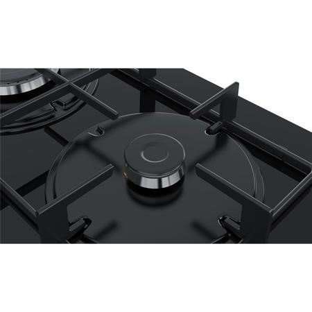 Bosch PNP6B6B80 Serie 4 60cm Tempered Glass 4 Burner Glass Hob - Black