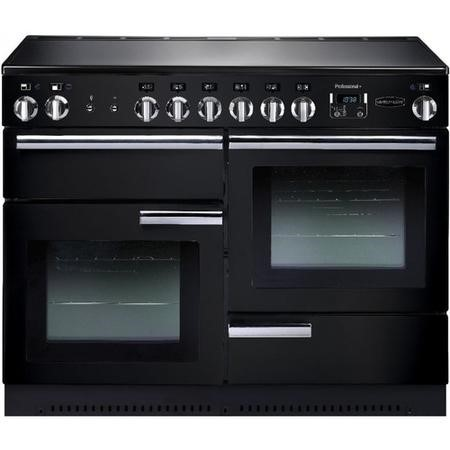 Rangemaster PROP110ECGBC Professional Plus 110cm Electric Range Cooker - Black