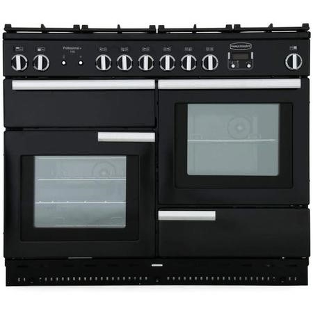 Rangemaster PROP110NGFGBC Professional Plus 110cm Natural Gas Range Cooker - Black