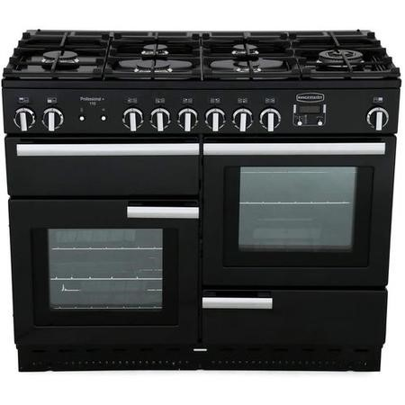 Rangemaster 83420 Professional+ 110cm Dual Fuel Range Cooker - Stainless Steel