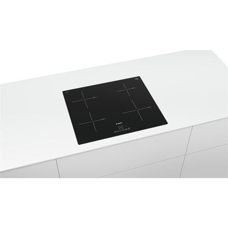 Bosch PUE611BB1E Serie 4 4 Zone Induction Hob - Black