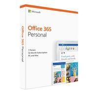 Microsoft Office 365 Personal 2019 - 1 User - 1 Year Subscription