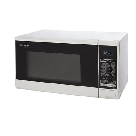 Sharp R270WM Touch Control 20 L White Freestanding Microwave