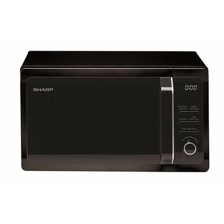 Sharp R664KM 20L 800W Freestanding Microwave With Grill in Black