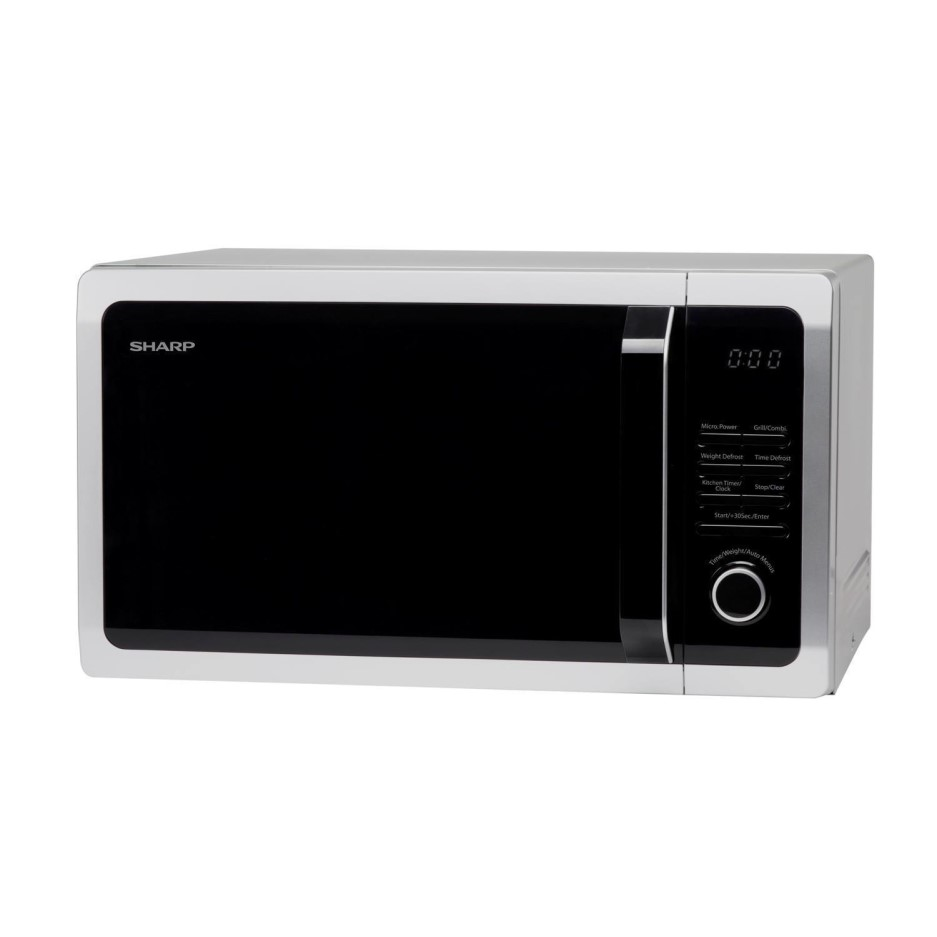 Singer 25l Microwave Oven With Grill: Sharp R764SLM 25L 900W Freestanding Microwave With Grill