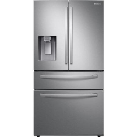 Samsung RF24R7201SR Freestanding American Fridge Freezer With Ice And Water Dispenser - Silver