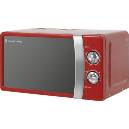 Russell Hobbs RHMM701R 17L 700W Freestanding Microwave in Red